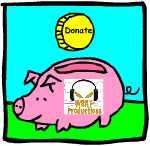 WRAT piggy bank